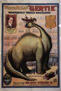 Gertie the Dinosaur poster
