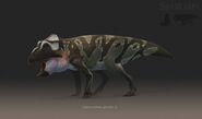 Leptoceratops Male Saurian