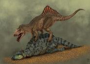 Concavenator vs iguanodon by jelsin-d3g3v3a