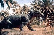 When dinosaurs ruled the earth megalosaurus