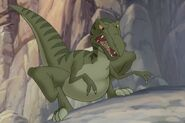 Land before time velociraptor