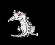 Rudy the albino baryonyx by koala sam-d5w1l73
