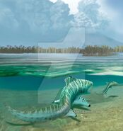 Orthacanthus and triodus by oscarsanisidro-d64is8t