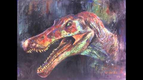 Jurassic Park - Spinosaurus. aegypticus Sound Effects HD