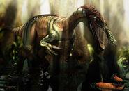Baryonyx en el bosque inundado by epic3d