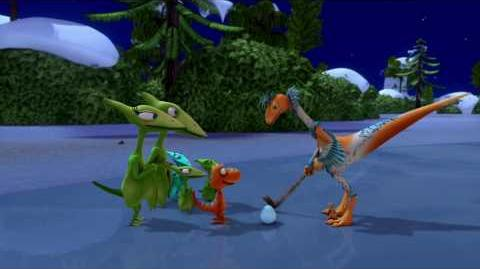 """Dinosaur Train"" - ""Dinosaurs in the Snow""-0"