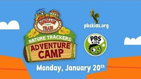 DINOSAUR TRAIN Nature Trackers Adventure Camp PBS KIDS January 20, 2014