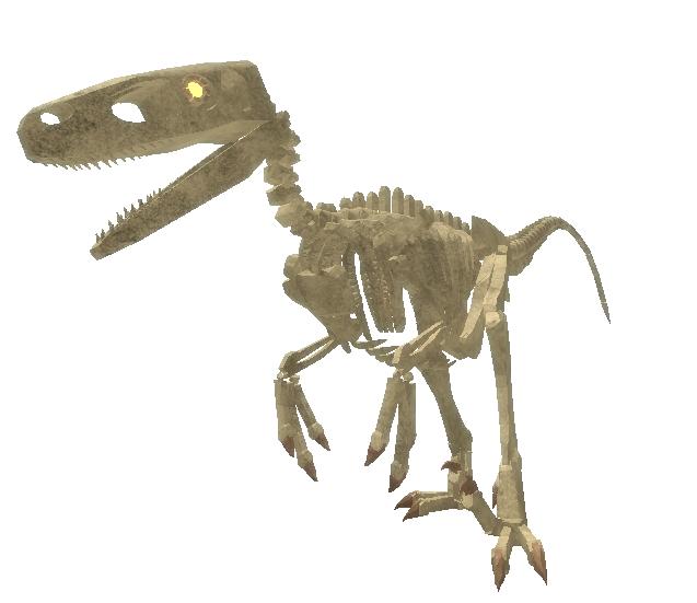 Fossil Utahraptor