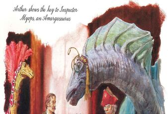 Myops, An Amargasaurus