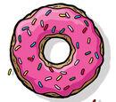 Donut Especial de Homer Simpson
