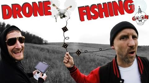 Drone Fishing with Dainton Dirty Sanchez and Aerial Photography Warren Pitt