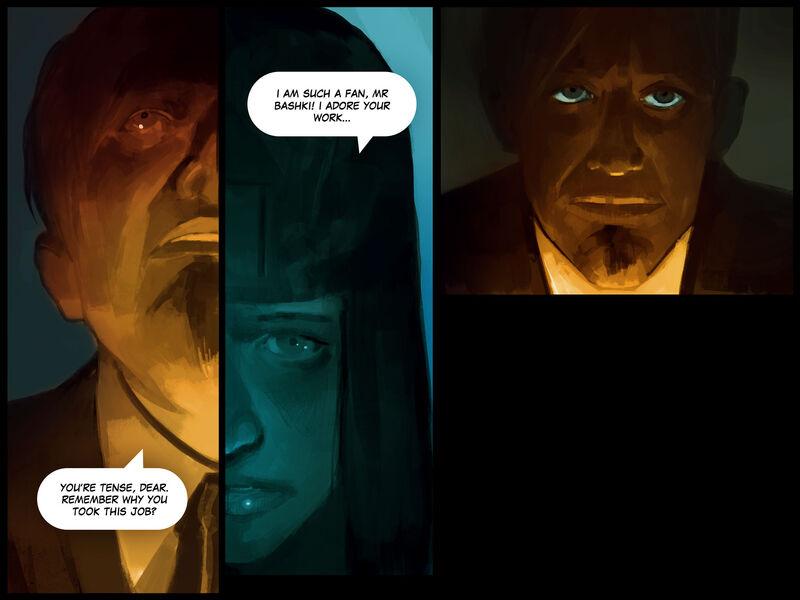 Rogue en Vogue Update - Comic - MercSERV Archive Bashki Case - 14