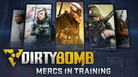 Dirty Bomb Mercs in Training