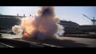 Brigg's car explosion