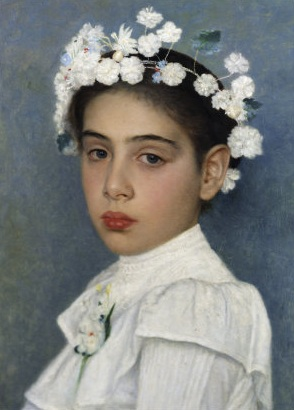 File:Isidor Kaufmann Girl with flowers in her hair.jpg