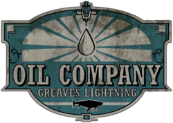 Greaves Lightning Oil Logo