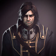 Corvo attano face render