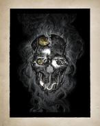 Art book corvo mask