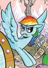 160px-Comic issue 19 Alternate Rainbow Dash