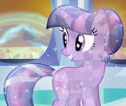 225px-Twilight Sparkle as a Crystal Pony ID S3E2