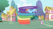 File:180px-Rainbow Dash cleaning Twilight S1E01.png