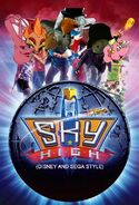 Sky High (Disney and Sega Style) Poster