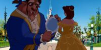 Belle and Beast Goes to Disneyland Paris pictures