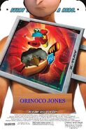 Orinoco Jones Poster