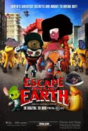 Escape from Planet Earth (Disney and Sega Style) Poster