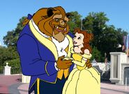 Belle and Beast goes to Walt Disney World Pictures 01