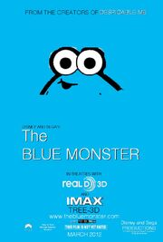 The Blue Monster (The Lorax) Poster