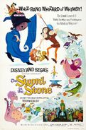 Disney and Sega's The Sword in the Stone Poster