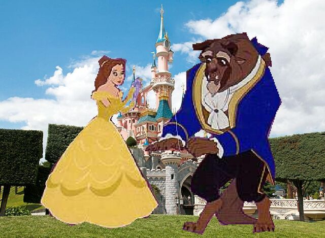 File:Belle and Beast Goes to Disneyland Paris Pictures 02.JPG