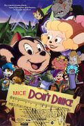 Mice Don't Dance (Disney and Sega Style) Poster