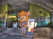 Gadget Hackwrench and Sniffles Pictures 10