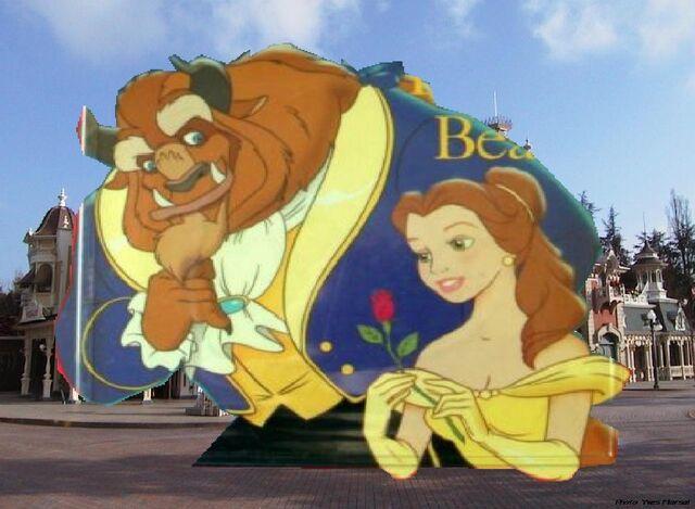 File:Belle and Beast Goes to Disneyland Paris Pictures 07.JPG