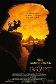 Disney and Sega's The Mouse Prince of Egypt Poster