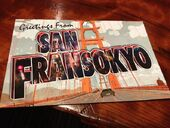 Greetings from San Fransokyo card