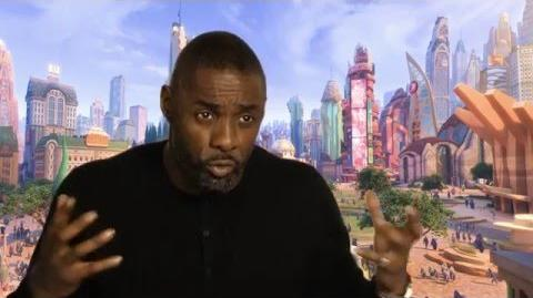 "Zootopia Zootropolis ""Chief Bogo"" Behind The Scenes Interview - Idris Elba"