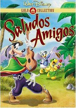 Saludos Amigos-picture dvd