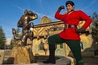 Gaston in New Fantasyland