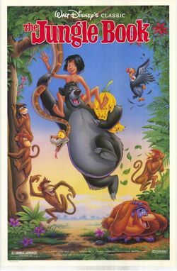 The Jungle Book 1990 Re-Release Poster