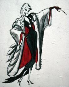 Concept art for Cruella04