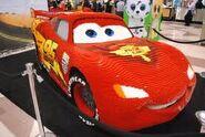 Life Size Lego Lightning McQueen
