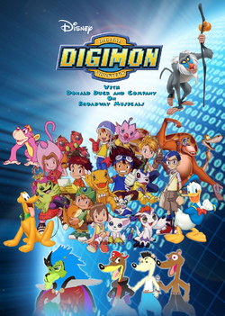 Disney Digimon with Donald Duck and Company (Musical)