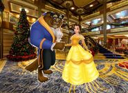 Belle and Beast goes to Walt Disney World Pictures 07
