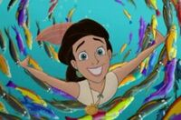 Happy melody under the sea
