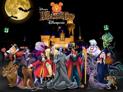 Disney Halloween Time in Disneyland