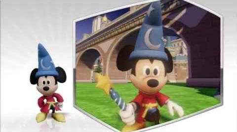Disney Infinity - The Sorcerers Apprentice Mickey Character Gameplay - Series 2