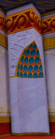 Agrabah Palace Corner